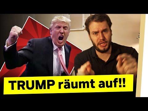 TRUMP räumt auf!!