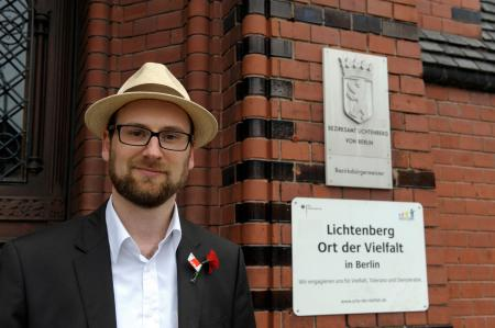 Erik Gührs - Direktkandidat der SPD Berlin-Lichtenberg  Quelle: erik-guehrs.de