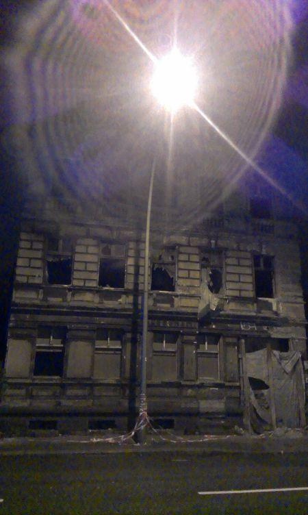 Verfallendes Haus in Berlin